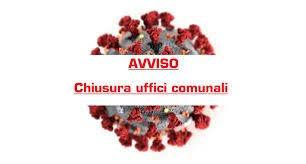 CHIUSURA UFFICI COMUNALI